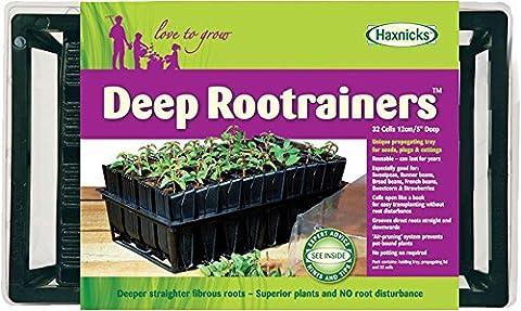 Haxnicks Rootrainer Profondeur de plateau à graines