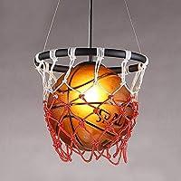 Lampadario da basket, Lampadario creativo, hot pot negozio di abbigliamento negozio di illuminazione, cameretta bar Internet Cafe Lampadario, E27