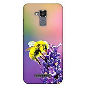DASM United Asus Zenfone 3 Max 5.2inch Premium Back Case Cover - Honey Bee on Flower