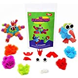 Toiing Scrunchies - Ms. Octoshriek & Friends Construction Set For Kids With Innovative Building Blocks And Accessories