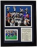 Legends Never Die NFL New England Patriots leyendas nunca mueren foto enmarcada Collage, 2014Super Bowl XLIX campeones Collage, 11x 14