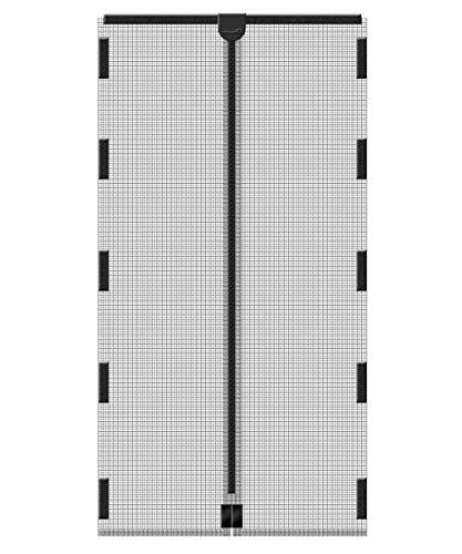 Schellenberg 50641 Insektenschutz-Magnetvorhang, Fliegengitter mit Magnet für Türen - 120 x 240 cm i