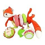 LQZ(TM) Spirale Spielzeug Kinderwagenspielzeug Bett Anhänger Hängespielzeug ab 0 Monaten