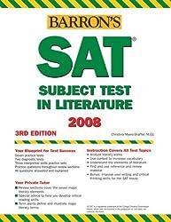 HTP SAT Subject Test in Literature (Barron's SAT Subject Test Literature)