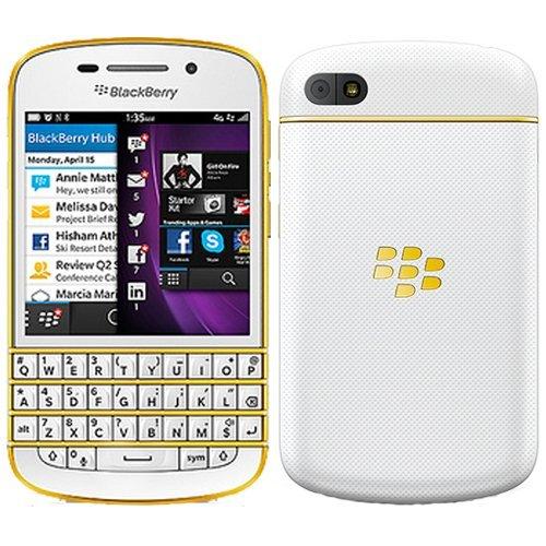 BlackBerry Q10 GSM Mobile Phone (White)