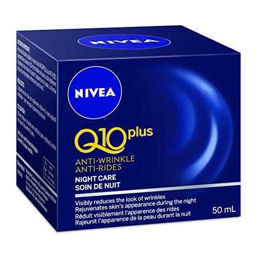 Nivea Visage Q10 Plus Anti-Falten Nachtcreme (50 ml) - Packung mit 2