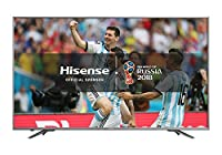 Hisense H50N6800 Grey 50inch ULED 4K Ultra HD HDR Smart TV with 4x HDMI Ports