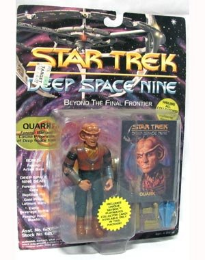 Quark Ferengi Bar and Casino Proprietor DS9 - Actionfigur - Star Trek Deep Space Nine von Playmates (Deep Space Nine Playmates)