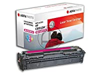 Agfaphoto APTHP543AE Copy and Laser Printer Catridges for HP Color Laserjet CP1215 CB543A/Canon 716M