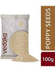 Amazon Brand - Vedaka Poppy Seeds (Khus Khus), 100g