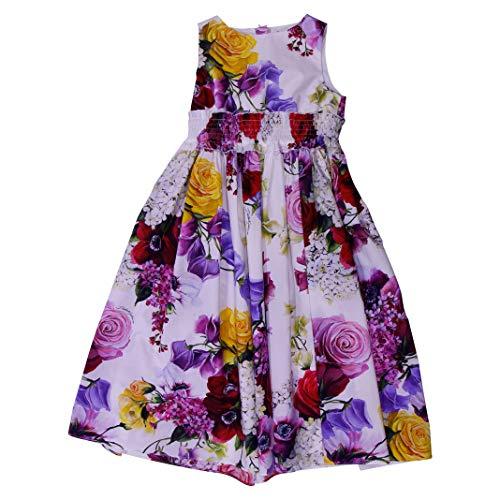 DOLCE E GABBANA Mädchen L51dk3hs5cxhaw86 Violett Baumwolle Kleid - Dolce Gabbana Kleid Schuhe
