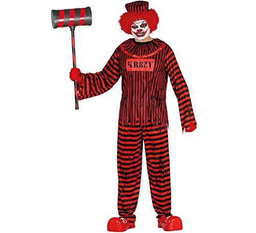 Guirca 88011 - Psyco Clown Adulto Talla L 52-54