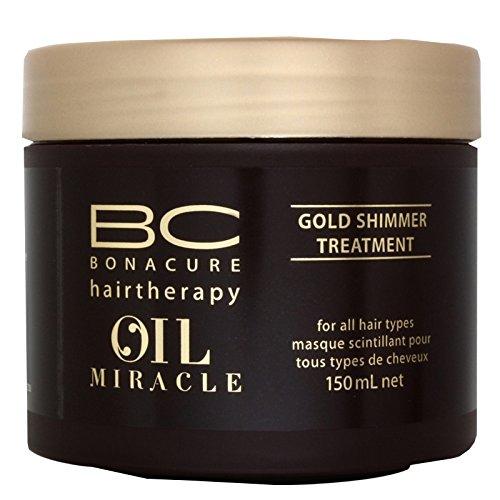 Schwarzkopf Professional - Masque Scintillant pour Cheveux - BC Bonacure Oil Miracle - 150ml