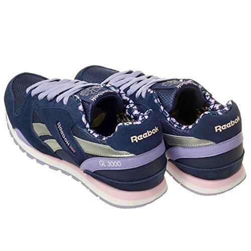 Reebok Donna Scarpe / Sneaker GL 3000 Blu marino-Viola