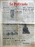 Telecharger Livres PATRIOTE LE No 2237 du 21 12 1951 TRACTATIONS ENTRE LE GOUVERNEMENT ET LA MAJORITE SOCIALISTES EN PARTICULIER SUR LES LOIS CADRES UN BUDGET MILITAIRE PREVISIONNEL SERAIT DEPOSE EN ATTENDANT LES DECISIONS AMERICAINES DE LA CONFERENCE DE LISBONNE M PINEAU SFIO AU SECOURS DE M PLEVEN LE BUDGET DE L EDUCATION NATIONALE A L ASSEMBLEE OU LES ELUS COMMUNISTES ONT ARDEMMENT DEFENDU L ECOLE PUBLIQUE AVANT LES ASSISES NATIONALES DE LA PAIX PROFESSION DE FOI PAR LE PROFESSEUR WEILL HALLE S (PDF,EPUB,MOBI) gratuits en Francaise
