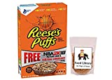 #9: Combo of General Mills Peanut Butter Sweet & Crunchy Reese's Puffs Cereal (Imported), 368g + Food Library Golden Raisins, 100g