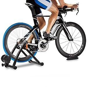 Fitfiu BI-T05 - Rodillo entreno para bicicleta, color negro