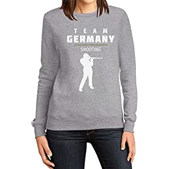 Shooting Team Germany – Schießen Fan Motiv Olympia Frauen Sweatshirt