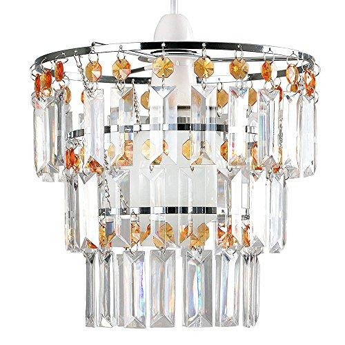 abat-jour-moderne-pour-suspension-3-anneaux-de-cristaux-claires-et-ambr-orange-acryliques-en-cascade