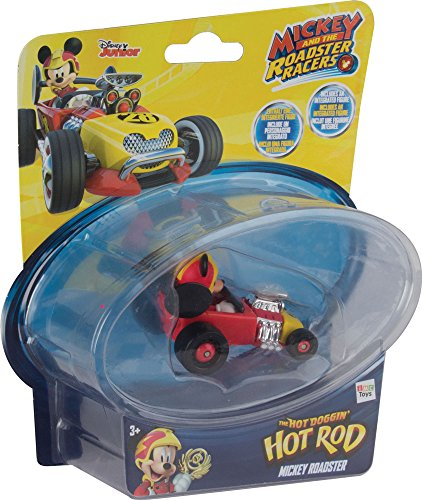 Mickey Mouse - Mini Vehículos: Hot Doggin Hot Rod (IMC Toys 182844)