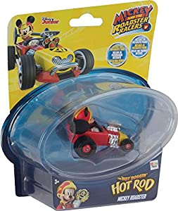 Mickey Mouse- Mini Vehículos Doggin Hot Rod, Multicolor (IMC Toys 182844)