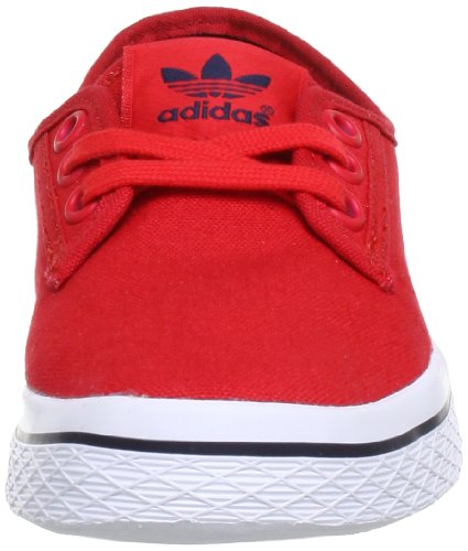 adidas Honey Plimsole W, Chaussures Basses Femme Rouge - Vivid Red S / Vivid Red S / Legend Ink S
