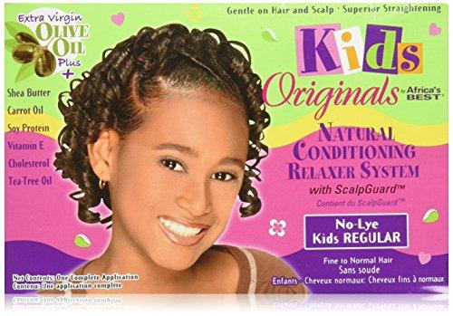 Africa's Best Kids Organics Relaxer Regular Kit (Haarpflege) von Africa's Best