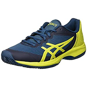 ASICS Herren Gel-Court Speed Clay Tennisschuhe, schwarz, 46.5 EU