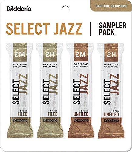 Rico Select Jazz-Blatt für Saxophone Bariton-Saxophon 2M/2H