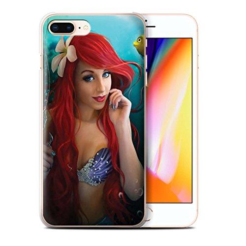Officiel Elena Dudina Coque / Etui pour Apple iPhone 8 Plus / Pack 7pcs Design / Agua de Vida Collection Le Crochet