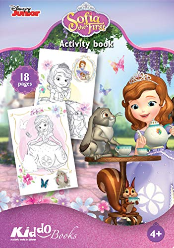 QuackDuck Disney Junior Malblock Sofia The First - Sofia die Erste - Coloring Activity Book - Malen und schneiden (9010) (Die Erste Disney Junior-sofia)