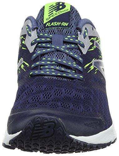 New Balance Flash, Scarpe Sportive Indoor Uomo Multicolore (Dark Cyclone/energy)