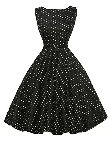 1950 vintage cocktail vestito di stile audrey hepburn abito da skirt swing 3# xx-large