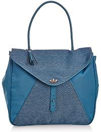 adidas Damen Tasche Denim Holdall, Triblu, 36 x 10 x 32 cm, F79481