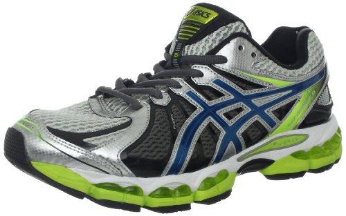 asics-gel-nimbus-15del-hombre-running-shoe-lightning-azul-acero-lima-color-azul-talla-43-eu