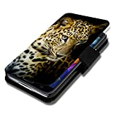 Book Style Flip Cover Case Custodia Rigida Motivo Custodia per Huawei Ascend P7-Auswahl39Design a scelta
