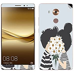 Theskinmantra Couple Love Huawei Mate 8 mobile skin