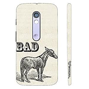 Motorola Moto X Play BAD ASS designer mobile hard shell case by Enthopia