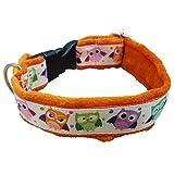 Natura Resort Hundehalsband, handgefertigt, flauschig, niedliches Muster, weich, hypoallergen und verstellbar