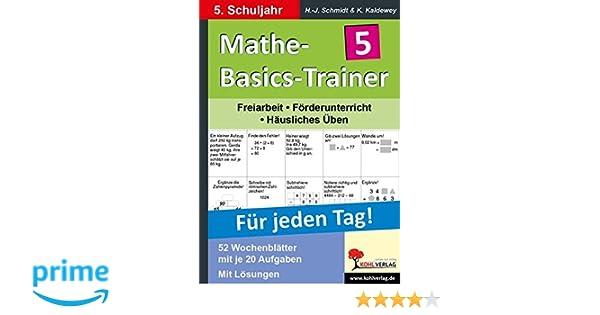 PORTOFREI Schuljahr Grundlagentraining für jeden Tag 7 Mathe-Basics-Trainer