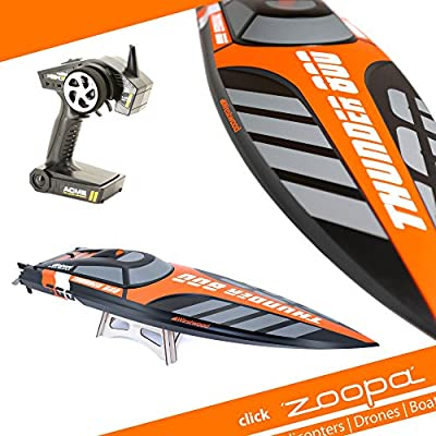 ACME - zoopa Thander | 800 speedboot Professional | incl. 2.4Ghz RC | Ready to Race (ZA0800) from ACME the game company GmbH
