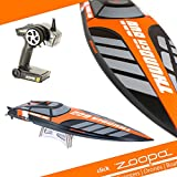 ACME - zoopa Thunder | 800 Speedboot Professional | inkl. 2,4Ghz Fernsteuerung | Ready to Race (ZA0800)