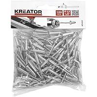100pieza krt618107Remaches Pop Remaches Remaches ciegos de diámetro 4,8x l 20mm