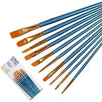 NOBRAND Pintura de Cepillo del Aceite acrílicos Arte Artista cepillos Pincel Establece Profesional Acuarela Pintura Pintura Kits for Niños Artistas