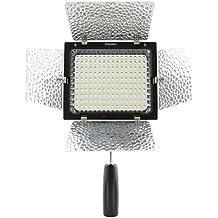 Yongnuo YN160 II Led Lámpara ligera video Con micrófono de condensador para Canon Nikon Pentax cámara DV