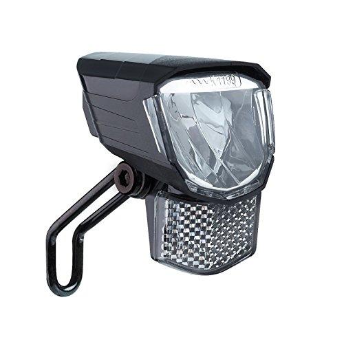 Büchel LED-Frontscheinwerfer Tour, 45 Lux, mit Standlicht, StVZO zugelassen, schwarz, 51251511, schwarz
