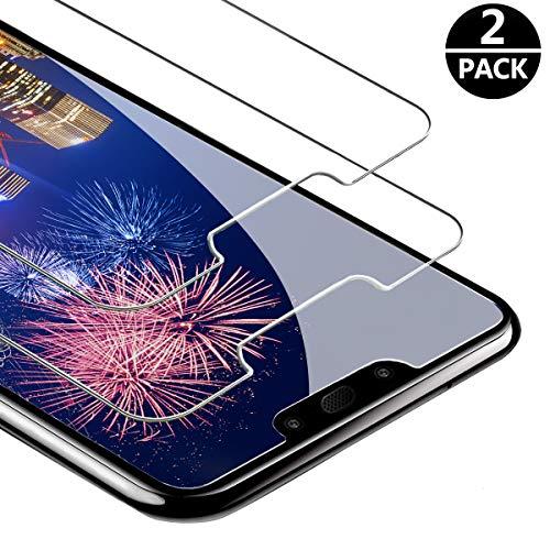 FUMUM Glasfolie Huawei Mate 20 Lite Folie, Premium 9H HD Schutzfolie für Huawei Mate 20 Lite Schutzglas [Anti Fingerabdruck] Bubble-frei-2 Pack