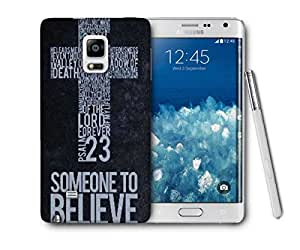 Snoogg Christian Wallpapers Printed Protective Phone Back Case Cover For Samsung Galaxy NOTE EDGE