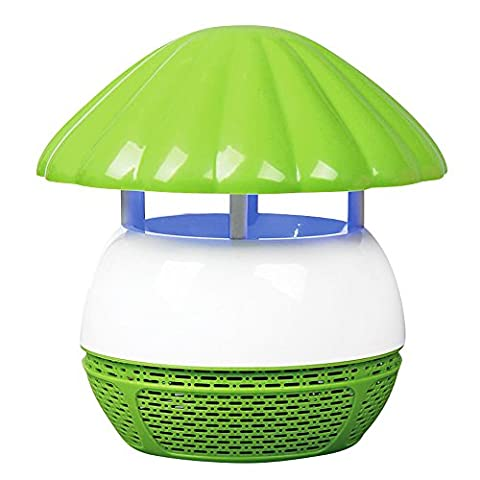 HOUTBY™ Electric Mosquitoes Fly Bug Insect Zapper Killer Trap Lamp Indoor Outdoor with Rechargeable