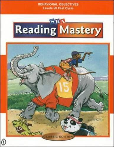 Reading Mastery Classic - Behavioral Objectives - Fast Cycle (Learning Through Literature)